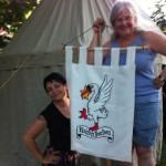 Iloisen Joutsenen kyltti / the Merry Swan is up