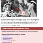 Ehdolla Ylen paras historiablogi-äänestyksessä / Nominated for best Finnish history blog