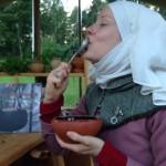 Win a copy of Saffron, eggs and almond milk – the medievalist's cook book!